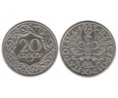 Польша 20 грошей 1923 года