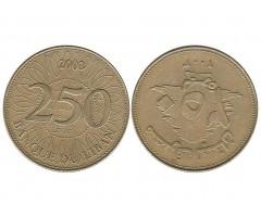 Ливан 250 ливров 2003 года