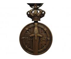 Медаль узника концлагерей 1940-1945 (с планкой за 60 месяцев)