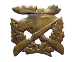 Знак на головной убор охотнадзора
