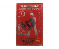 Чемпионат Динамо по пожарно-прикладному спорту