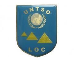 Лот нашивок и знак ООН