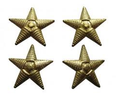 Лот погонных звезд (4 шт большие)