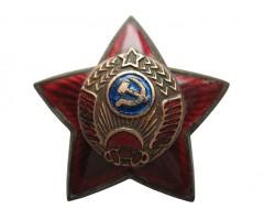 Знак на головной убор работников милиции