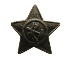 Звезда с плугом и молотом (малая)