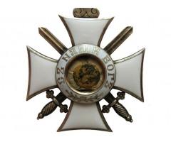 Орден Святой Александр 4 степени с короной и мечами
