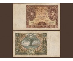 Польша 100 злотых 1932 года