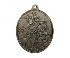 Жетон в память коронации Александра III и Марии Федоровны