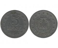 Албания 5 лек 1947 года