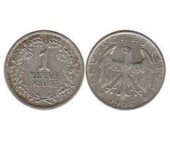 Германия 1 марка 1926 года А