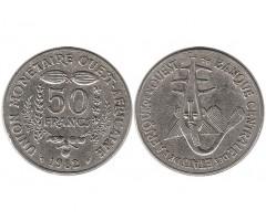 Западная Африка 50 франков 1982 года