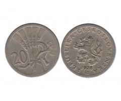 Чехословакия 20 гелеров 1928 года