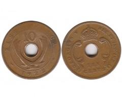 Восточная Африка 10 центов 1922 года