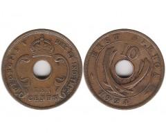 Восточная Африка 10 центов 1924 года
