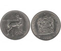 ЮАР 1 рэнд 1988 года