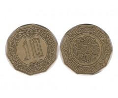 Алжир 10 динаров 1981 года