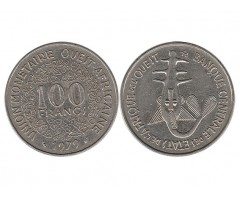 Западная Африка 100 франков 1979 года