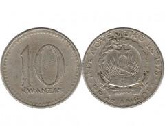 Ангола 10 кванза 1975 года
