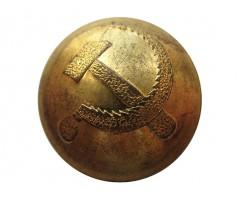Пуговица милиция (серп молот)