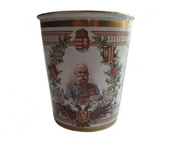 Памятный стакан 60 лет правления Франца Иосифа 1848-1908