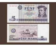 Германия ГДР 5 марок 1975 года