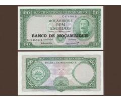 Мозамбик 100 эскудо 1976 года