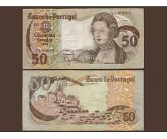 Португалия 50 эскудо 1980 года