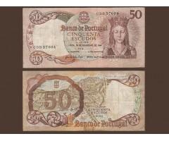 Португалия 50 эскудо 1964 года