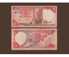 Ангола 20 эскудо 1972 года