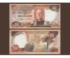 Ангола 100 эскудо 1972 года