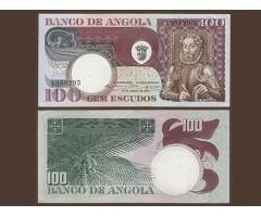 Ангола 100 эскудо 1973 года