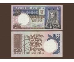 Ангола 50 эскудо 1973 года