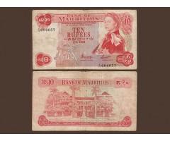 Маврикий 10 рупий 1967 года