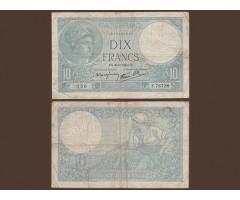 Франция 10 франков 1940 года