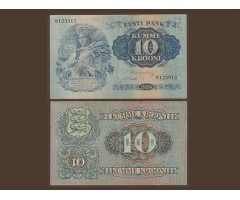 Эстония 10 крон 1928 года