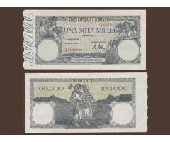 Румыния 100000 лей 1946 года