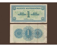 Австрия 1 шиллинг 1944 года