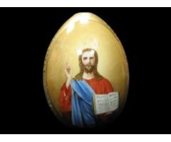 Яйцо пасхальное Спас Вседержитель