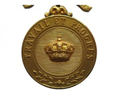 Золотая Медаль Ордена Короны (тип до 1951 г.)