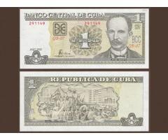 Куба 1 песо 2002 года