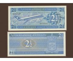 Антильские о-ва 2,5 гульдена 1970 года