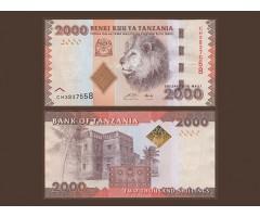 Танзания 2000 шиллингов 2010 года