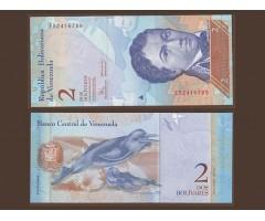 Венесуэла 2 боливара 2008 года