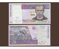 Малави 20 квача 1989 года