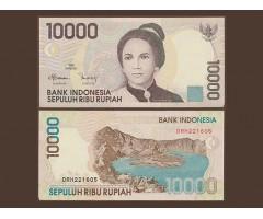 Индонезия 10000 рупий 1998 года