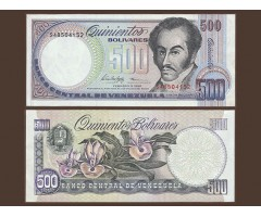 Венесуэла 500 боливар 1998 года