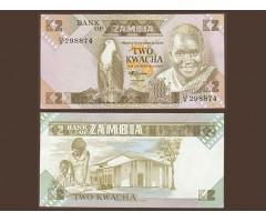 Замбия 2 квача 1980 года