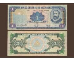 Никарагуа 1 кордоба 1995 года