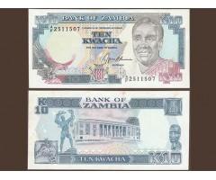 Замбия 10 квача 1989-1991 года