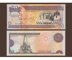 Доминикана 50 песо 2011 года
